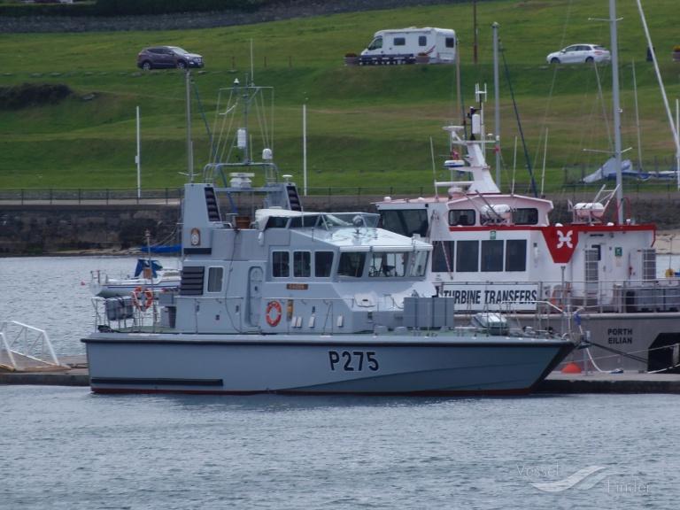 HMS RAIDER (MMSI: 235009940)