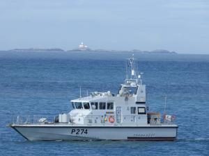 Photo of HMS TRACKER ship