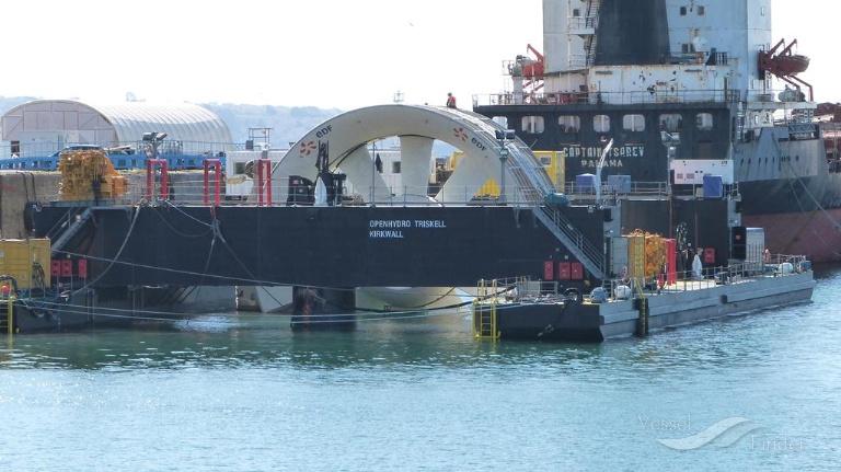OPENHYDRO TRISKELL, Towing vessel (tow>200) - Detalles del buque y