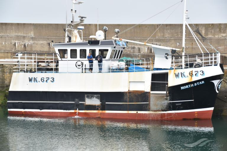 North Star Fishing Vessel Details And Current Position