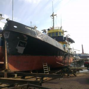 Photo of LAMLASH ship