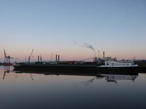 Photo of OSIRIS ship