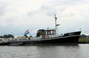 Photo of DREG 1 ship