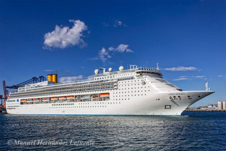 Costa Victoria Passenger Cruise Ship Skibsdetaljer Og
