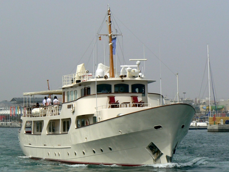 M/Y MONTREVEL (MMSI: 254465000) ; Place: Valencia