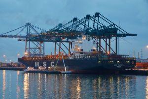 Photo of MSC VALENCIA ship