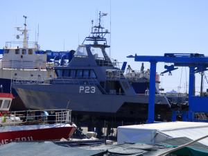 Photo of P23 ship