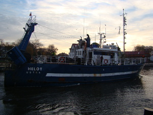 Photo of WLA-184 HELOT ship