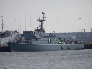 Photo of ORP NECKO ship