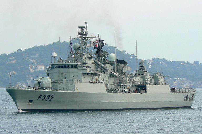 NATO WARSHIP F332