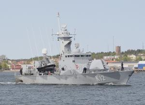 Photo of SWEDISH WARSHIP P12 ship