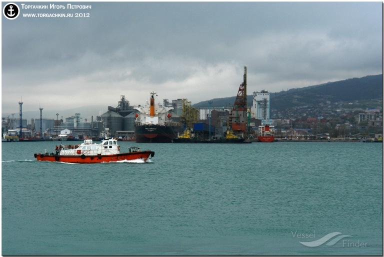 KAPITAN LISOVSKIY (MMSI: 273334130) ; Place: Port Novorossiysk, Russia.