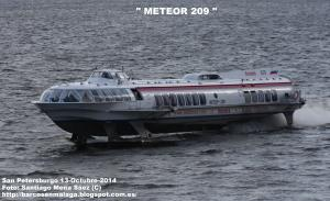 Photo of METEOR-209 ship