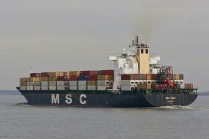 Photo of MSC SUEZ ship