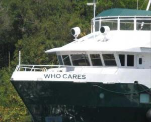 Photo of WHO CARES ship