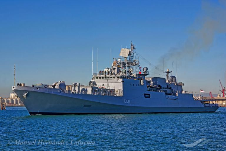 photo of INDIAN WARSHIP F50