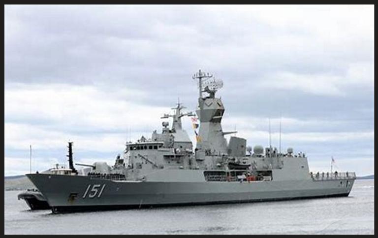 AUSTRALIAN WARSHIP photo
