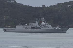 Photo of HMNZS TE KAHA ship