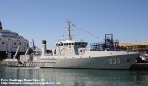 Photo of KRI RIGEL ship