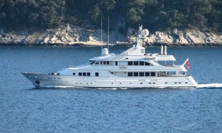 Eclipse Yacht Details And Current Position Imo 1003750 Mmsi