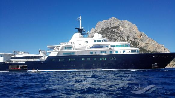 Le Grand Bleu Yacht Details And Current Position Imo 1006829