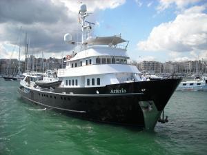 Photo of MY ASTERIA ship