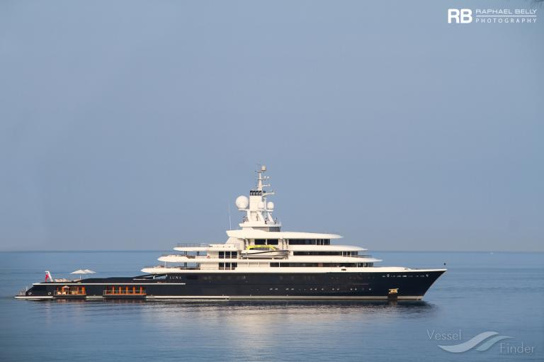 Luna Yacht Details And Current Position Imo 1010222 Mmsi