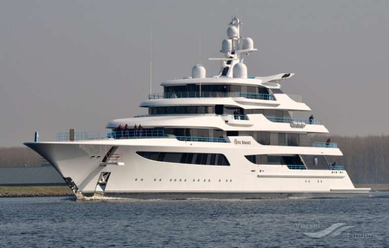 Royal Romance Yacht Details And Current Position Imo 1012268