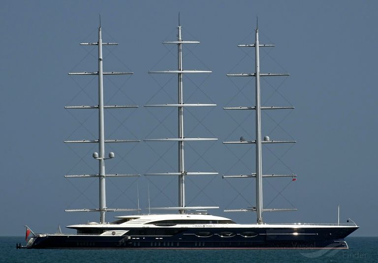 Black Pearl Yacht Details And Current Position Imo 1012490 Mmsi