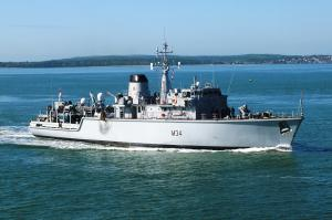 Photo of HMS MIDDLETON ship