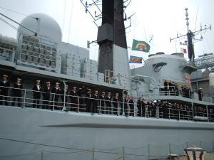 Photo of HMS YORK ship