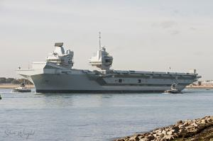 Photo of HMS QUEEN ELIZABETH ship