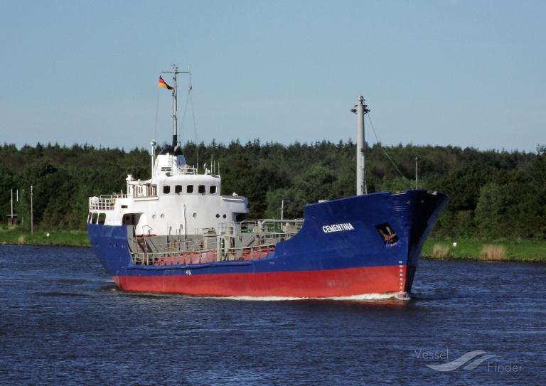 CEMENTINA (MMSI: 0) ; Place: Kiel_Canal/ Germany
