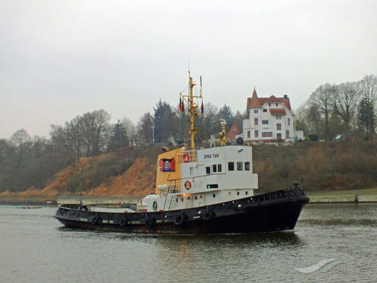 EMS TUG (MMSI: 0) ; Place: Kiel_Nordhafen, Germany