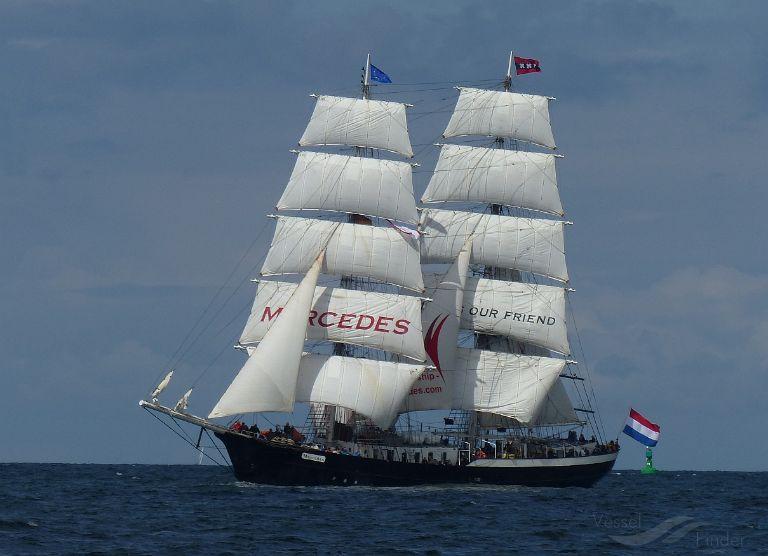 MERCEDES, Sailing Vessel - Details and current position