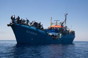 Photo of IUVENTA ship