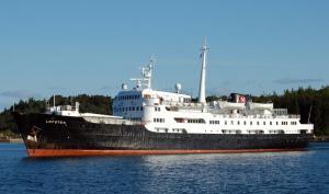 Photo of MS Lofoten ship