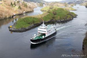 Photo of LUSTRAFJORD ship