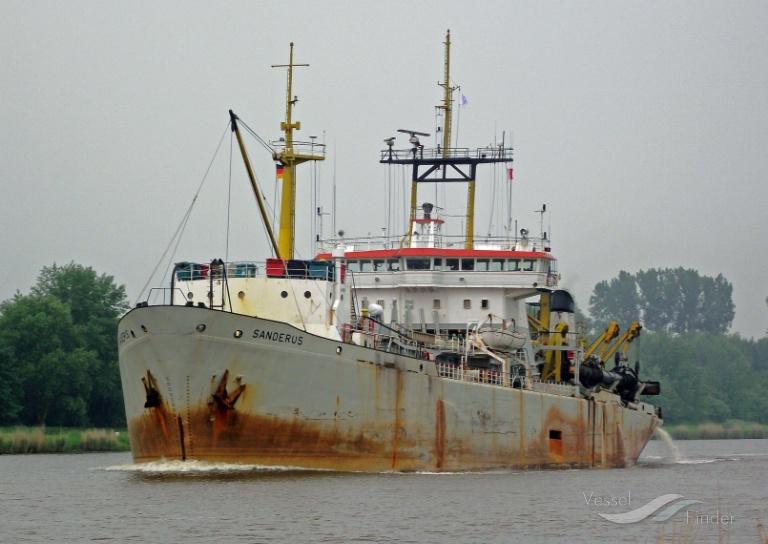 SANDERUS (MMSI: 645273000) ; Place: Kiel_Canal