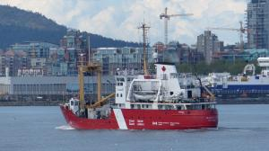 Photo of CCGS BARTLETT ship