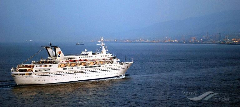 CORA (MMSI: 0) ; Place: Offshore Genoa