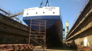 Photo of FALKNES ship
