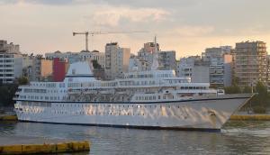 Photo of mv Aegean Odyssey ship