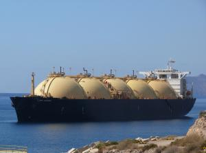 Photo of LNG ARIES ship