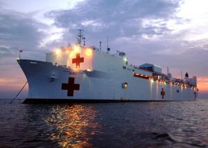 Photo of USNS MERCY ship