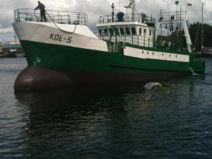 Photo of KOL-5 ship