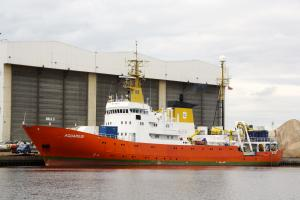 снимка на кораб AQUARIUS