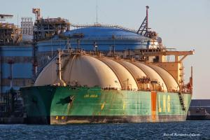 Photo of LNG ABUJA ship