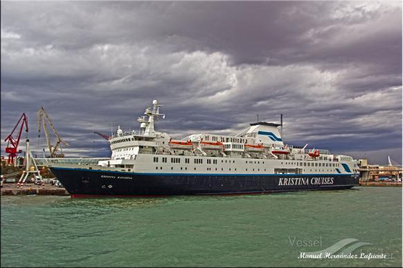 OCEAN ENDEAVOUR (MMSI: 311000419) ; Place: Valencia