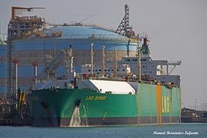 Photo of LNG BONNY ship